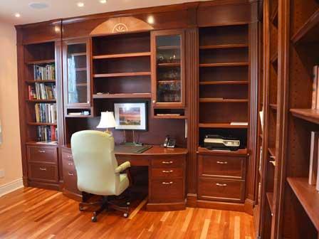 Interior designs custom den
