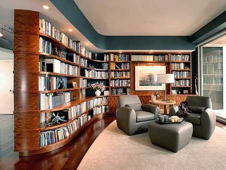 Custom Interior libraries