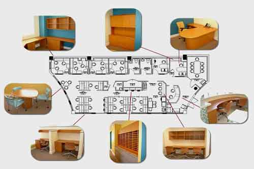 office furniture design and installation
