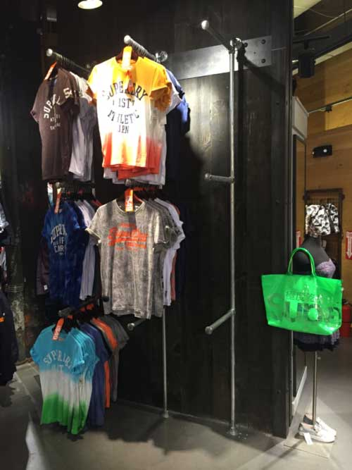 Retail Store Fixture Installation Service For Superdrystore